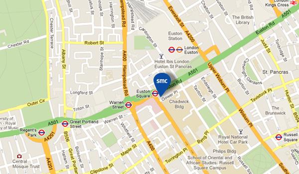 find smc on google maps